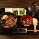 焼肉酒房 元 - 牛まぶしビビンバ