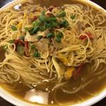 洋麺亭 - お蕎麦屋さんのカレー南蛮風 Mサイズ