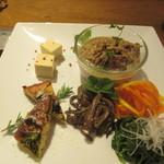 琉球ビーフ&ビア - 前菜