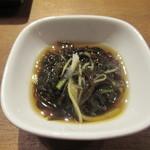 琉球ビーフ&ビア - もずく酢