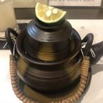 96086135 - 松茸の土瓶蒸し