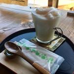 言の葉 - 緑茶豆乳ラテ