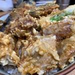 豊野丼 - この日のまぐろで天丼