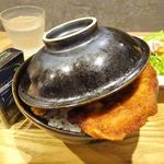 ふくい軒 - 大カツ丼(カツ4枚)(大盛)1,080円
