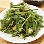 老酒舗 - 老虎菜(パクチーサラダ) 700円 爽やかサラダ。