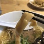 らー麺 鉄山靠 - 2018年11月3日  シナチク