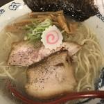 ラーメンLabソウハチヤ - 塩らーめん(750円)【平成30年10月19日撮影】