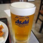 淀ヤ食堂 - 生ビール