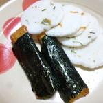 坂東飴 - 海苔巻と海老せん