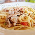 イタリア食堂 俵 - 料理写真:パスタランチ(あじ豚柚子こしょう)