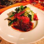 KITCHEN ぬまた - 料理写真:牛肉のロースト・粒マスタードソース