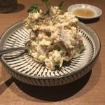 博多やさい巻き串 虎乃家 - 焼き鯖燻製のポテサラ