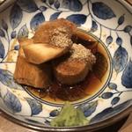 博多やさい巻き串 虎乃家 - 山芋のたまり醤油漬