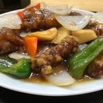 めん処マサムネ屋 - 酢豚