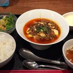 96096159 - 陳麻婆豆腐ランチセット 1080円
