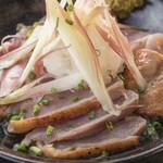 国産肉と糸島野菜を使った店 焼鳥居酒屋 英 - 料理写真: