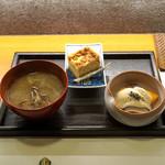 ねぎま - 料理写真:小皿三品