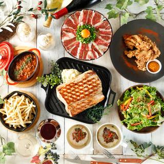 【土日祝限定コース】ランチ、ディナーの宴会がお得にご利用♪