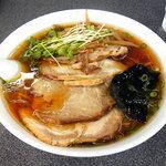 味の大西 - 味の大西@大井店 チャーシューワンタンメン