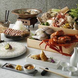新鮮甲殻類を堪能!当店自慢の料理の数々