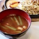 ミナミ - 味噌汁
