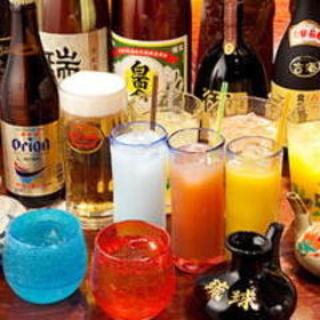 絶品沖縄料理には種類豊富な泡盛で◎