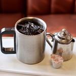 ミナミ - 食後のアイスコーヒー