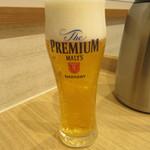 ポンガラカレー - 生ビール