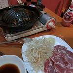 96104752 - 【北海道直送】ジンギスカン(生ラム肉)900円