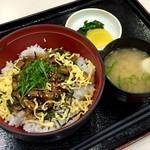 宮島サービスエリア(下り)スナックコーナー - 穴子丼