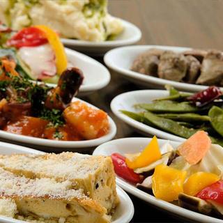 食材にこだわる南伊料理◆自然の恵みを味わって