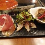 GRILL HIRO - 前菜3種盛り