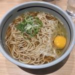 吉そば - 月見そば(¥360)+大盛(¥0)