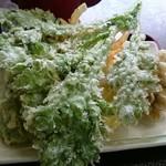 そば処 おうめ - 天ぷら 野菜をメインに5品