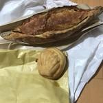 パンストック - 明太フランスとクリームパン?