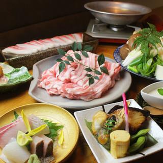 【宴会利用におすすめ】3種類の鍋コースをご用意しております。