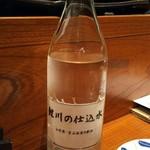 別亭 神田新八 - 仕込み水