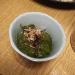 沖縄料理 でいご - めかぶ