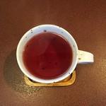 ジャム cafe 可鈴 - ヘルベチカ(ハイビスカス・ローズヒップ&レッドのハーブティ)