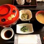 磯料理 喜良久亭 - 11月の三色丼