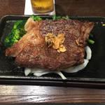 いきなりステーキ - いきなり!ステーキの一番高い肉 黒毛和牛真芯サーロインステーキ