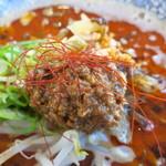 福龍 - 挽き肉&糸唐辛子