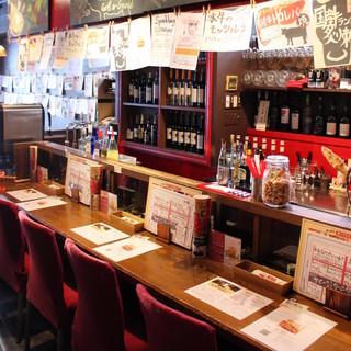 「肉×ワイン」洗練されたオシャレな空間で満喫!