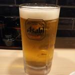 餃子酒場ナナホシ - 生ビールメガジョッキ 853円