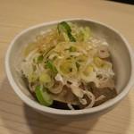 餃子酒場ナナホシ - ネギレバ 421円