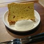 カイマナリオ - 料理写真:シフォンケーキ