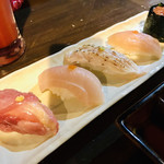 魚やん鶏 - 限定5食 鶏寿司5貫盛り