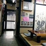 めし処 通 - 店内の一部
