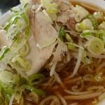 桜ラーメン 北方店 -   桜らーめん しょうゆ 750円