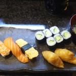 寿司割烹 海王 - にぎりランチ  (1000円)